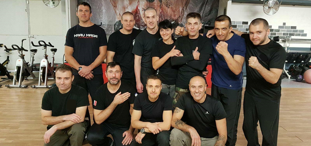 famille Krav Maga France - stage instructeur civil 2 2017