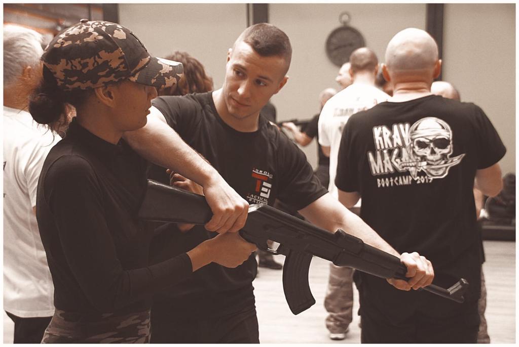 defense contre menace fusil d'assaut - Stage Antiterrorisme - Paris 2020