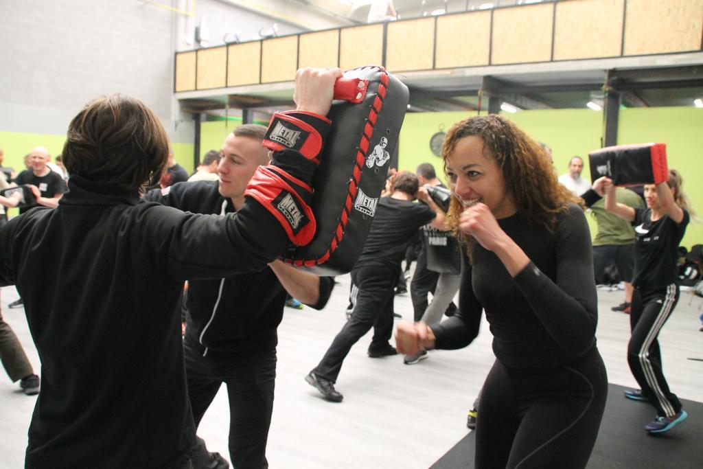 exercices cardio et physique - Stage Antiterrorisme - Paris 2020