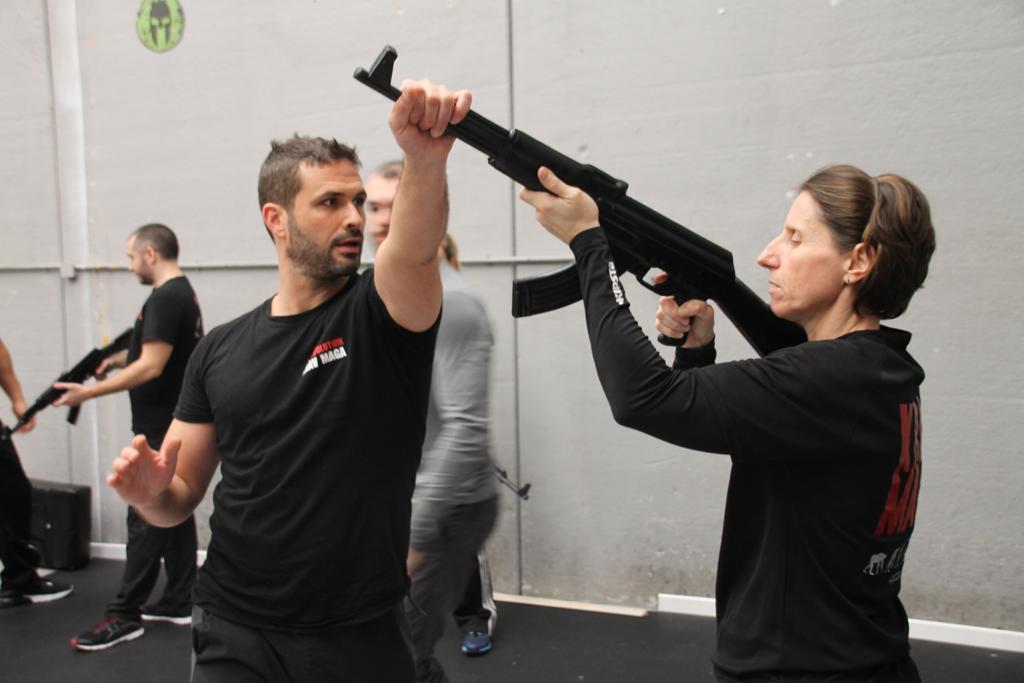 defense contre fusil d'assaut - Stage Antiterrorisme - Paris 2020